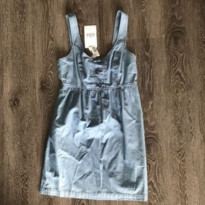 NWT Tibi chambray tank dress